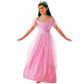 Déguisement enfant de princesse rose