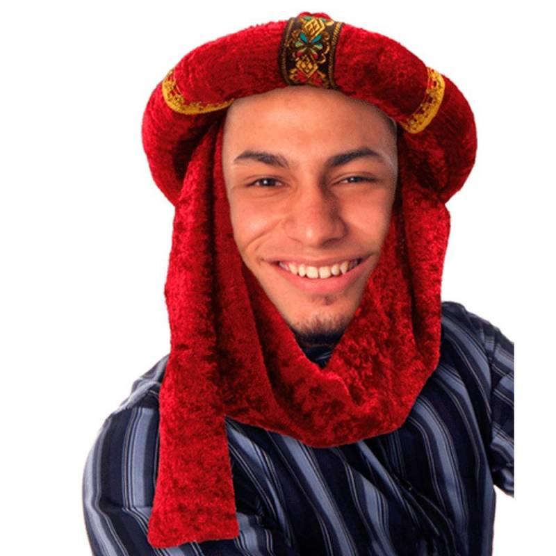 Chapeau oriental aspect velours