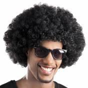Perruque afro de couleur
