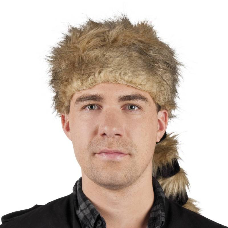 Chapeau de Davy Crockett en fausse fourrure