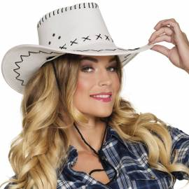 chapeau cow boy Elroy avec coutures apparentes