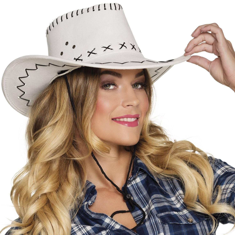 325ad4d2655 Chapeau de cow-boy en couleur avec coutures apparentes