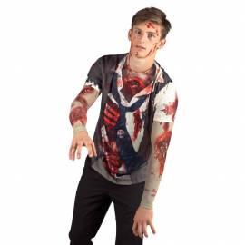 T Shirt Zombie adulte Halloween