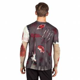 T Shirt Zombie adulte Halloween