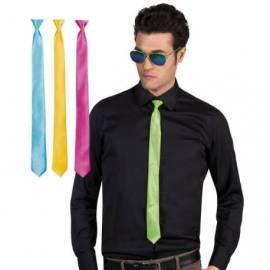 Cravate de couleur unie