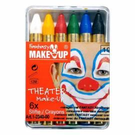 Pack de 6 fards de maquillage en bâton