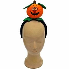 Serre-tête avec une citrouille d'Halloween