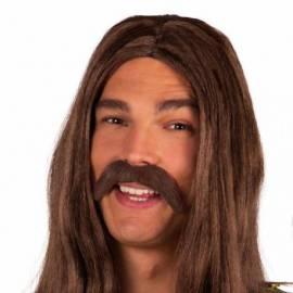 Moustache de hippie