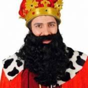 Longue barbe noire ou blanche
