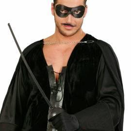 Épée/fleuret avec masque de Zorro