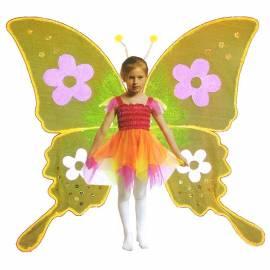 Ailes de papillon jaunes