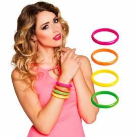 4 bracelets de couleur