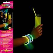 3 bracelets fluo