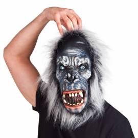 Masque de gorille grimaçant, en latex