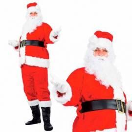 Deguisement pere Noel de luxe