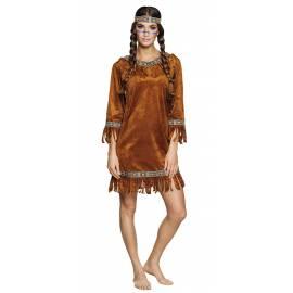 Déguisement indienne tunique déguisement western