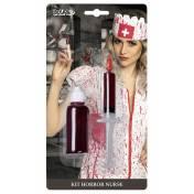 Kit infirmière seringue et bouteille
