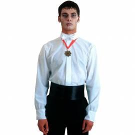 Chemise blanche de vampire pour adulte