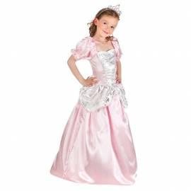 Deguisement princesse enfant rose et argent