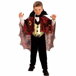 Deguisement vampire enfant avec cape halloween