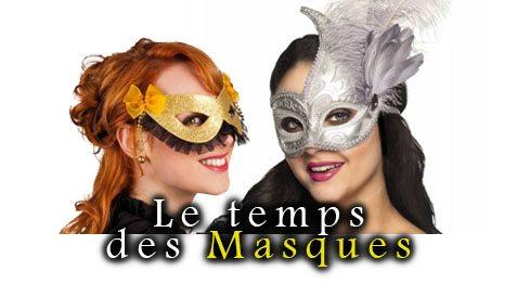 Le temps des masques